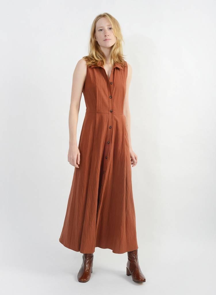Jubilee Dress - Rust