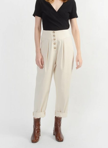 Canvas Pant - Natural