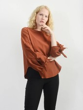 Jubilee Knot Top - Rust