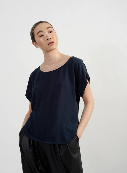 Wilder Blouse - Navy