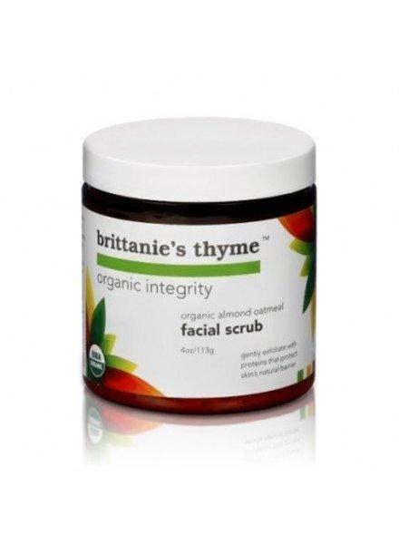 Brittanie's Thyme Almond Oatmeal Facial Scrub