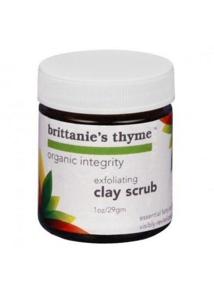 Brittanie's Thyme Exfoliating Clay Scrub