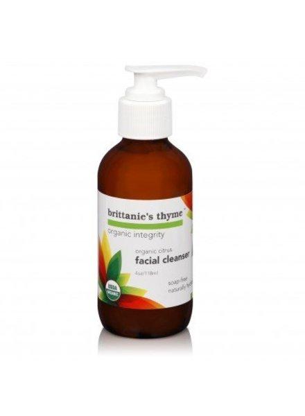 Brittanie's Thyme Organic Citrus Facial Cleanser