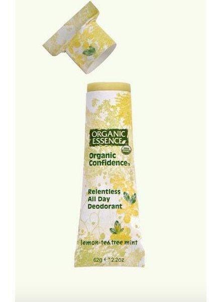 Organic Essence Organic Essence Organic Confidence Deodorant Lemon Teatree Mint