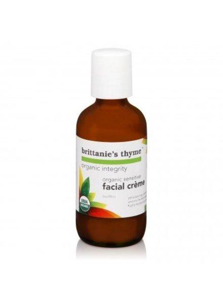 Brittanie's Thyme Organic Sensitive Face Creme