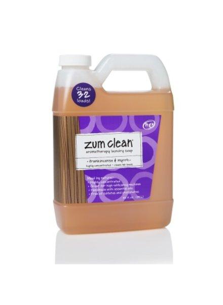Indigo Wild Indigo Wild Zum Clean Laundry Frankincense Myrrh 32oz