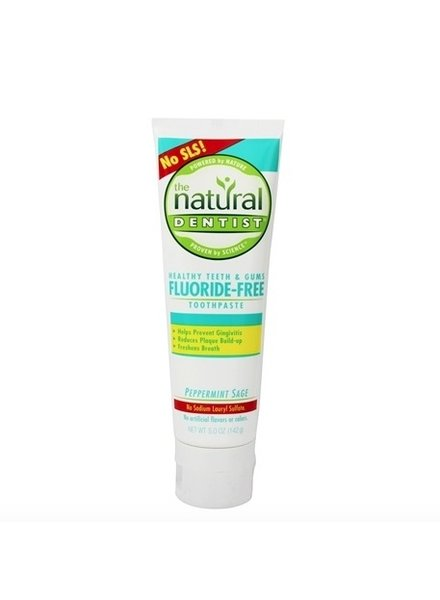 Natural Dentist Natural Dentist Toothpaste Peppermint Sage Flouride Free