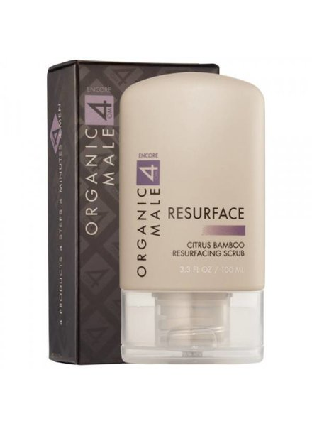 Om4Men Om4Men (Resurface) Citrus Bamboo Resurfacing Scrub