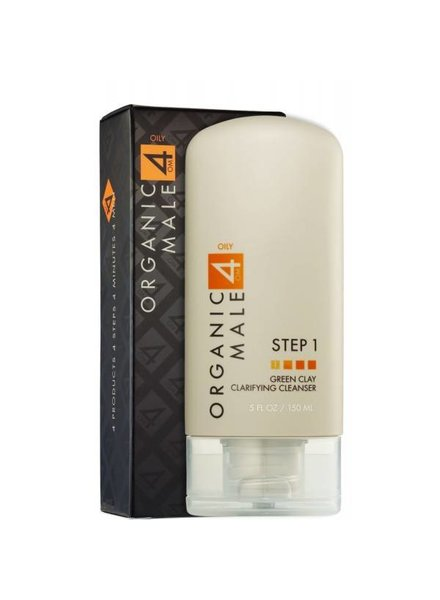 Om4Men Om4Men (Oily Step 1) Green Clay Clarifying Cleanser