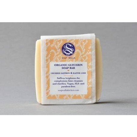 SoapWalla Saffron And Kaffir Bar