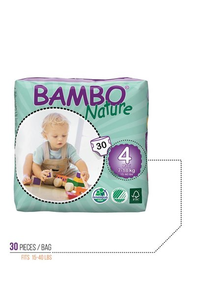 Bambo Bambo Diapers Size 4