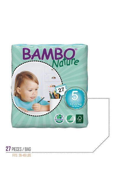 Bambo Bambo Diapers Size 5