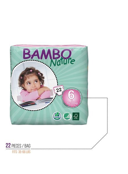 Bambo Bambo Diapers Size 6
