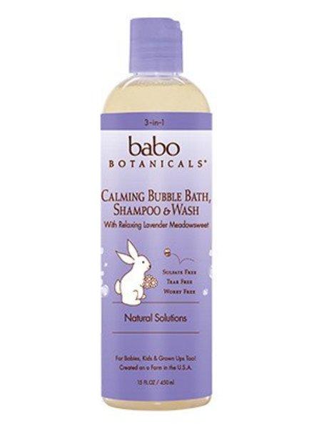 Babo Babo Calming Shampoo Bubble Bath Wash