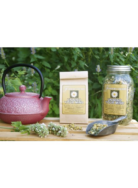 Farmacy Herbs Farmacy Herbs Unwind Your Mind Tea
