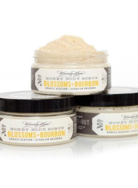 Waxing Kara Waxing Kara Body Scrub Blossoms and Bourbon 8 oz