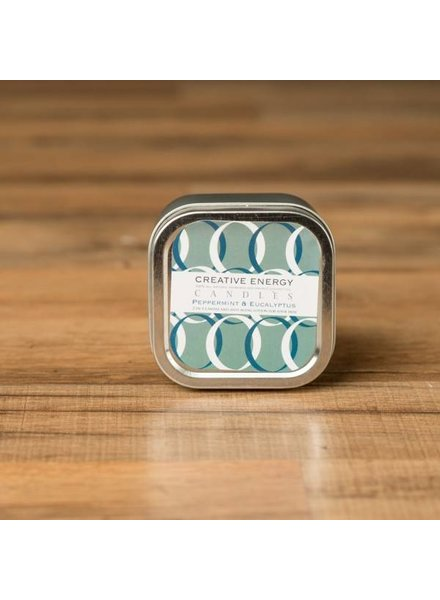 Creative Energy Creative Energy Peppermint and Eucalyptus Tin