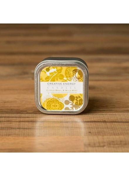 Creative Energy Creative Energy Citrus Basil Tin