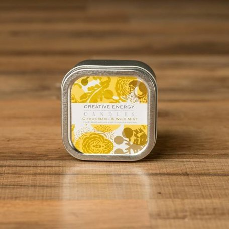 Creative Energy Citrus Basil Tin