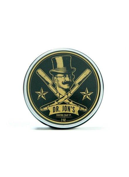 Dr. Jon's Black Shave Soap 4oz