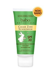 Babo Babo Clear Zinc Sunscreen