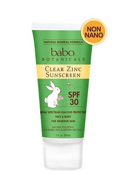 Babo Babo Clear Zinc Sunscreen