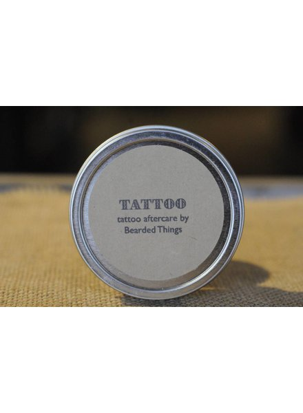 Bearded Things Bearded Things Tattoo Aftercare