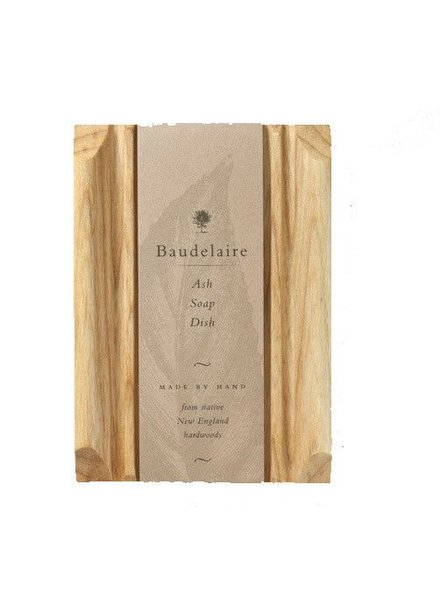 Baudelaire Baudelaire Rectangle Soap Dish Ash