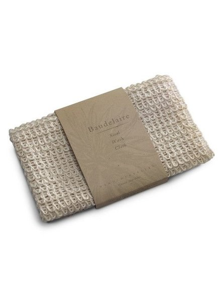 Baudelaire Baudelaire Sisal Wash Cloth