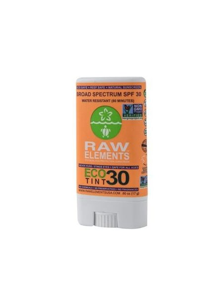 Raw Elements Raw Elements Sunscreen Stick Eco Tint SPF 30
