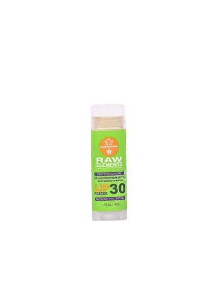 Raw Elements Raw Elements Lip Balm Rescue SPF 30