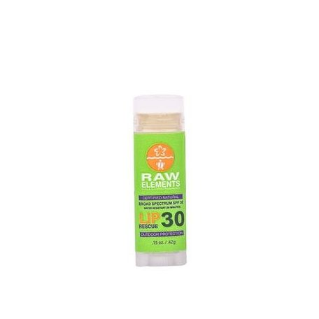 Raw Elements Lip Balm Rescue SPF 30
