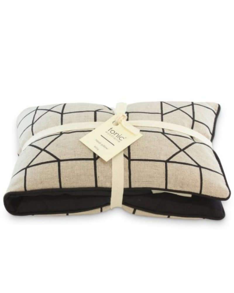 Tonic Tonic Heat Pillow Geo Black