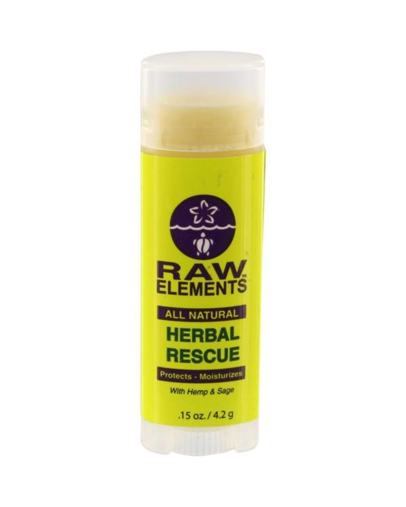 Raw Elements Raw Elements Lip Balm Herbal Rescue