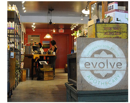 Evolve Apothecary and spa