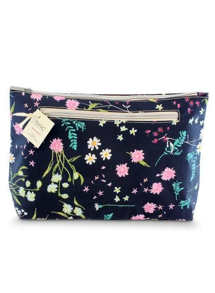 Tonic Tonic Large Cosmetic Bag Whimsy Ink