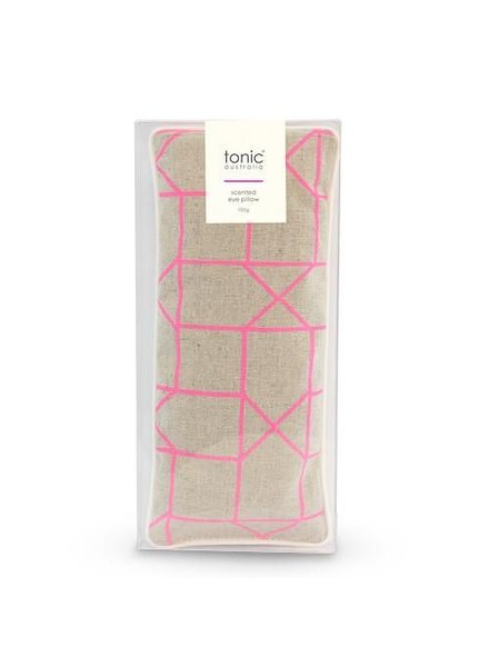 Tonic Tonic Eye Pillow Geo Pink