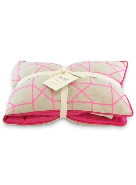 Tonic Tonic Heat Pillow Geo Pink