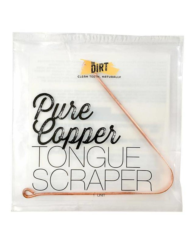 The Dirt The Dirt Anti-Microbial Copper Tongue Scraper
