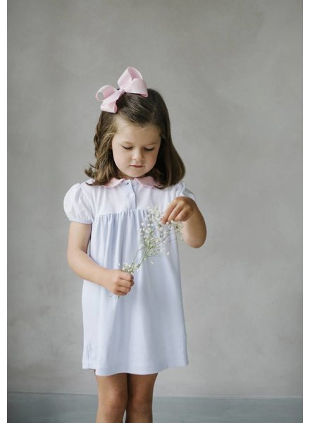 Little English Block Party Peter Pan Collar Dress Toddler