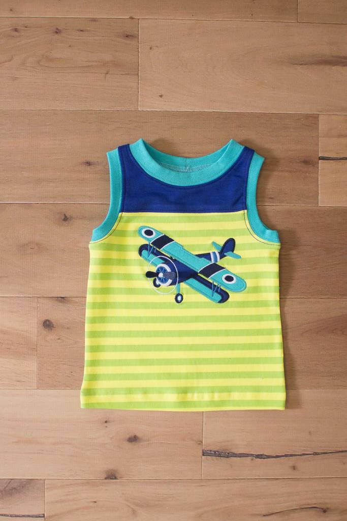 WALLY AND WILLIE Wally & Willie Boy's Airplane T-shirt Toddler
