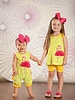 Molly & Millie Molly & Millie Flamingo Tunic with Bike Shorts Toddler