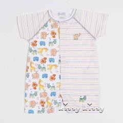 KISSY KISSY Kissy Kissy Born To Run Print Baby Boys Short Playsuit