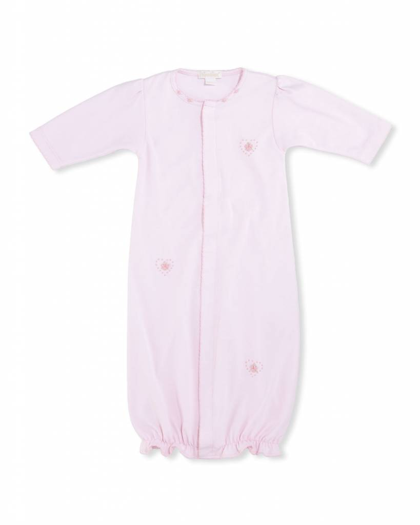 KISSY KISSY Heart to Heart Baby Girls  Convertible Gown