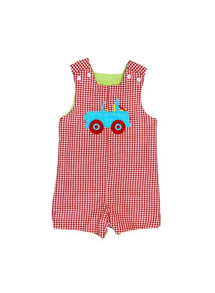 Bailey Boys Watermelon Reversible John John