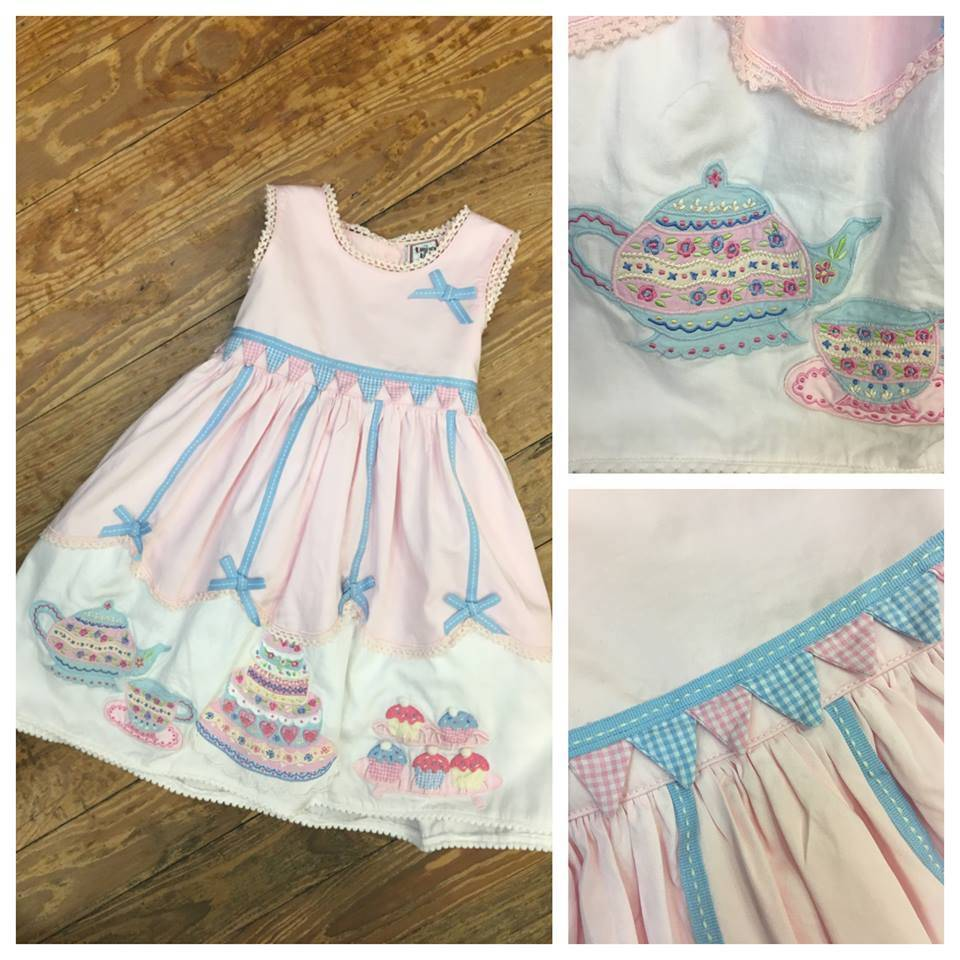CK3233 Tea Party Dress Toddler