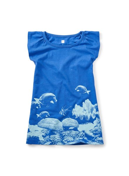 Tea Collection Damselfish Photoreal Dress 7M12320-A15
