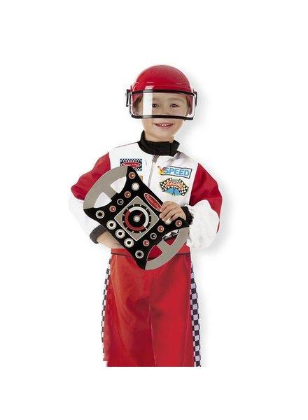 MELISSA & DOUG Race Car Role Play Costume 3-6years