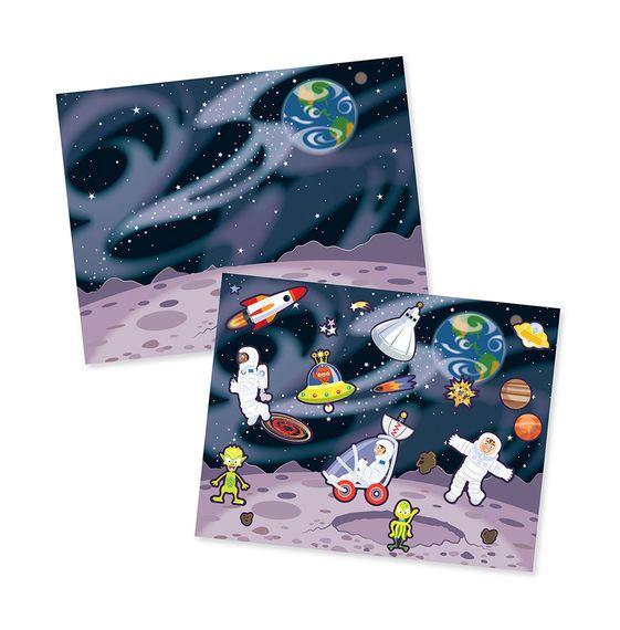 MELISSA & DOUG Adventure Reuseable Sticker Pad