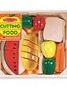 MELISSA & DOUG Cutting Food - Wooden Play Food